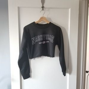 Boohoo Cropped Nashville L/S size 4